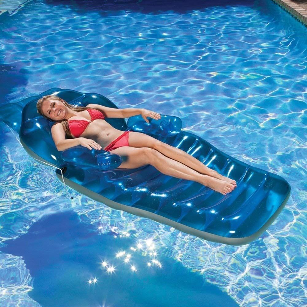 Nadar Juguetes para Fiestas Balsa Inflable Sillón Acuático ...
