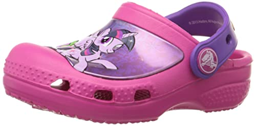 aedf5ccfe4 Crocs CC My Little Pony Clog Girls Slip on J1  Shoes  201191-6X0-J1  Buy  Online at Low Prices in India - Amazon.in