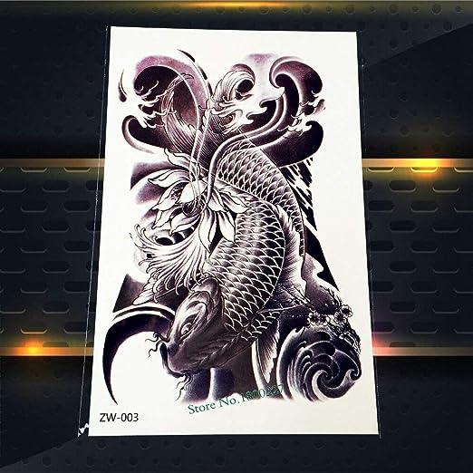 Yyoutop Negro 3D Dragón Suministros de Tatuaje Niños Pegatinas de ...