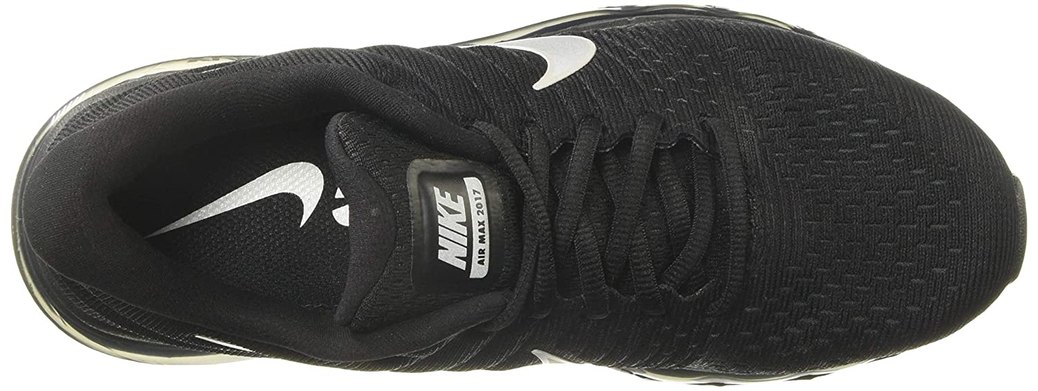 on sale 75d55 0163c Amazon.com   Nike Womens Air Max 2017 Running Shoes Black White Anthracite  849560-001 Size 10   Road Running