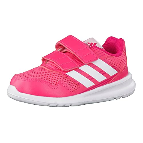 adidas Altarun CF i, Scarpe da Ginnastica Basse Bambina, Rosa (Rosrea/Ftwbla/Bayint 000 Reapnk/Ftwwht/Vivber), 23 EU