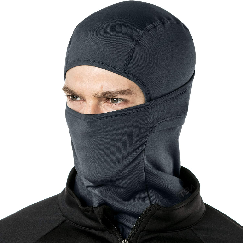 TSLA Winter Balaclava Mask Face Cover Thermal Fleece Helmet Liner Unisex
