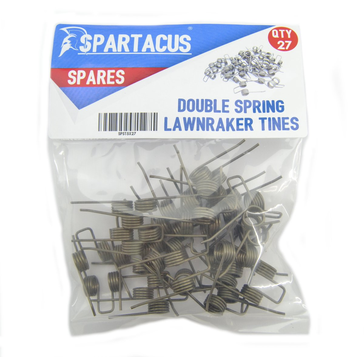 27 x Spartacus Replacement Lawn Raker Scarifier Tines Tynes For Cobra S32E