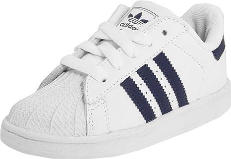 64128c6dc5fd6 Adidas SUPERSTAR Bianco Nero Sneakers per Bambini  Amazon.it  Sport ...