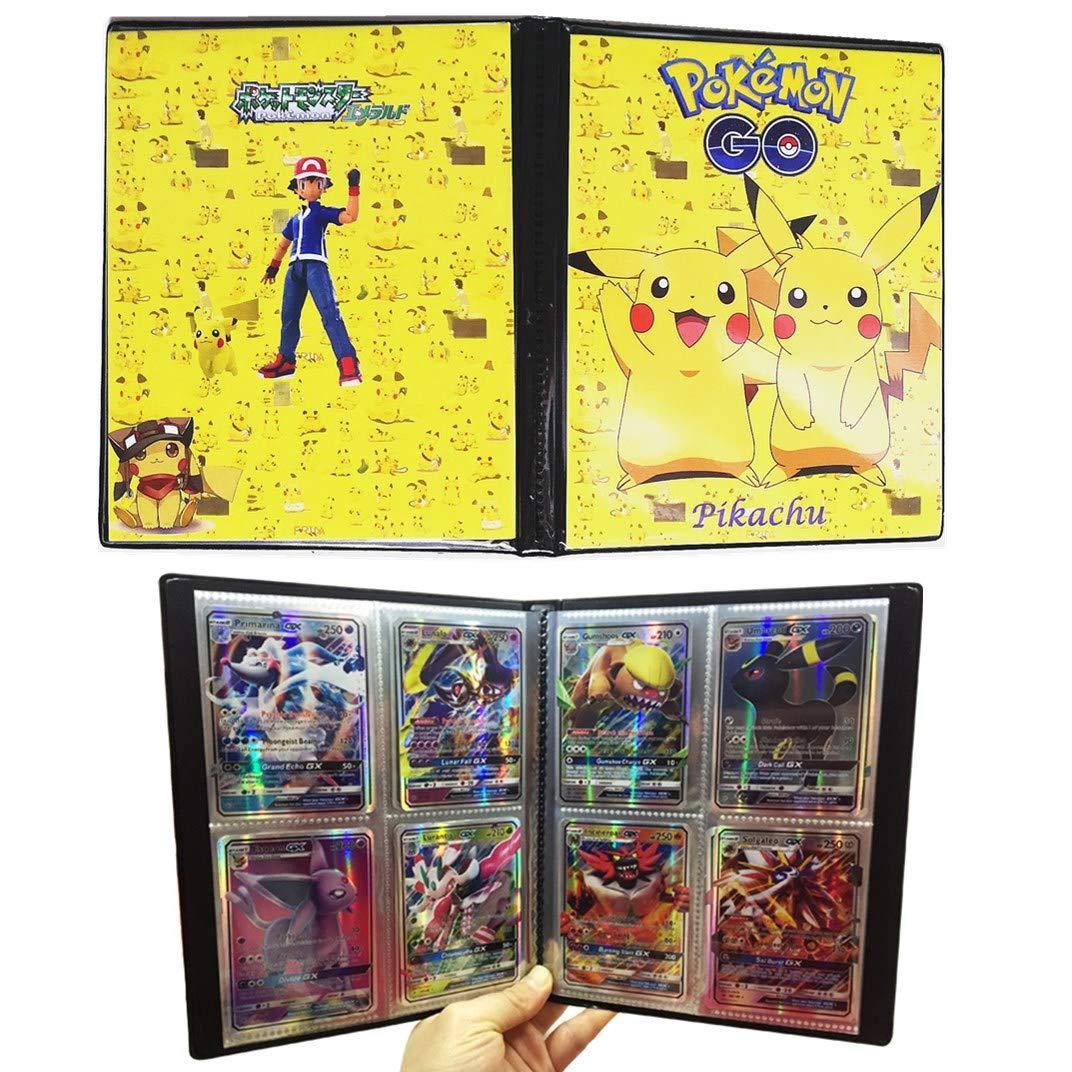 Classeur Carte Pokemon Album Porte Carte Pokemon Peut Accueillir 80 Cartes A Unique Ou 160 Cartes A Double Album Pour Cartes Pokemon Gx Baby Elf Jeux Et Jouets Jeux De Societe