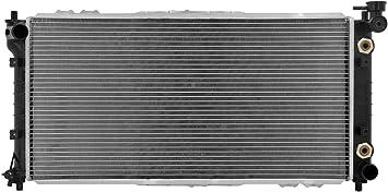 Radiator-1 Row Plastic Tank Aluminum Core CSF 3150