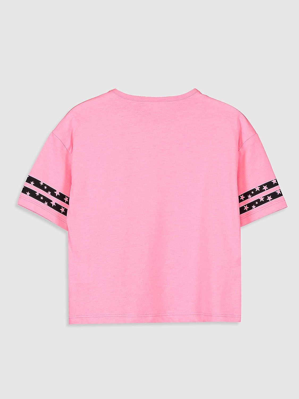 Maglietta a maniche corte LC WAIKI da ragazza scollo rotondo con stampa