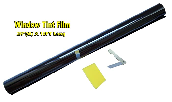 "Roll over image to zoom in LEXEN 20"" X 10FT ROLL 5% LIMO SHADE WINDOW TINTING FILM TINT UNCUT 20""x10' 5%"