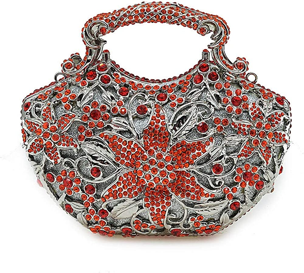 RICHARD BALDWIN Womens Beaded Dinner Bag Banquet Bag Lady Clutch Bag Shoulder Bag Messenger Bag