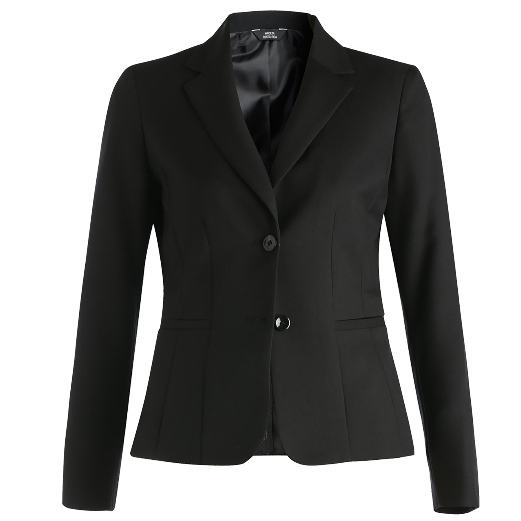 Averill's Sharper Uniforms Women's Ladies Extreme Washable Hotel Single Breasted Suit Coat 12 Black
