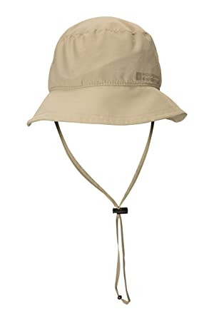9b9e181a2ee02 Mountain Warehouse IsoDry Mens Bucket Hat - Lightweight Summer Hat,  Breathable, Wicking Cap,