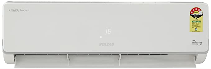 9e1c0a6f5a9 Voltas 1 Ton 4 Star Inverter Split AC (Copper