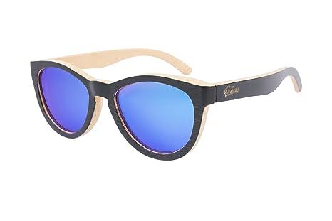 Gafas de sol / madera de bambú / POLARIZADAS UV400 / Unisex ...