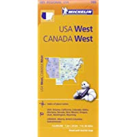 Michelin USA: West, Canada: West/Etats-Unis: Ouest, Canada: Ouest Map 585