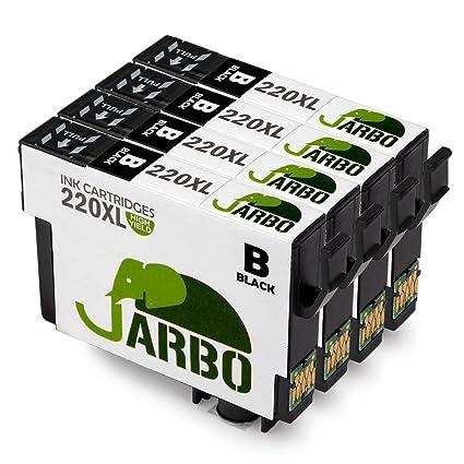 Jarbo Reemplazo para Epson 220 cartucho de tinta de alta capacidad ...