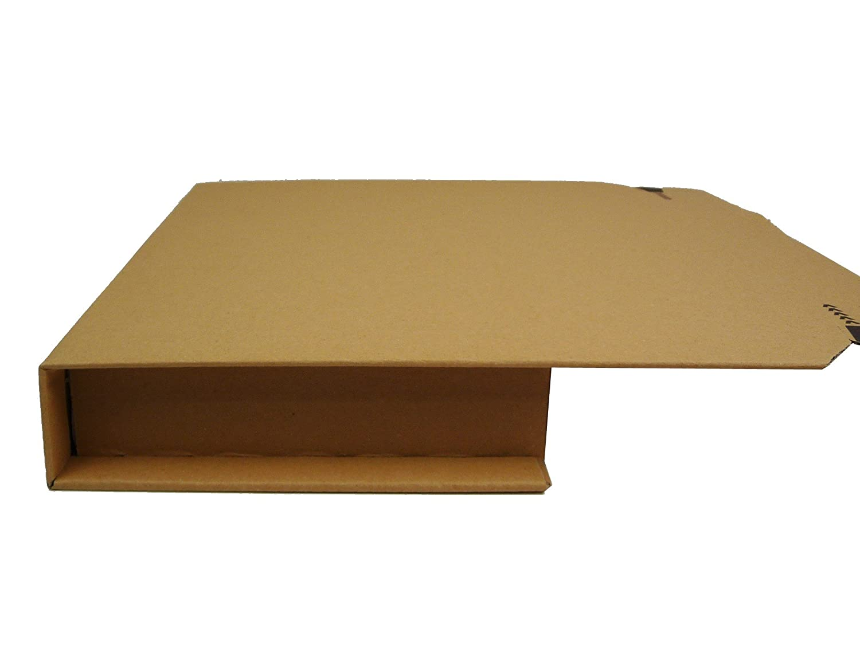 25 Stück Buchverpackung A4 Verpackung Buchkarton 300x220x80 Innenmaß