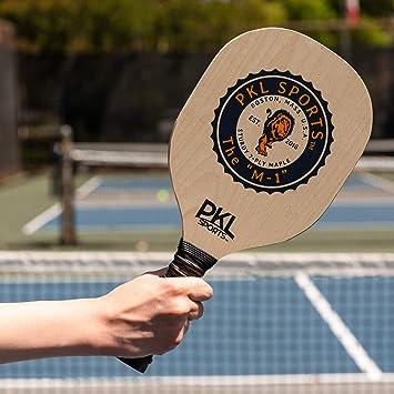 Amazon.com: PKL Sports - Juego de 4 paletas de madera de ...