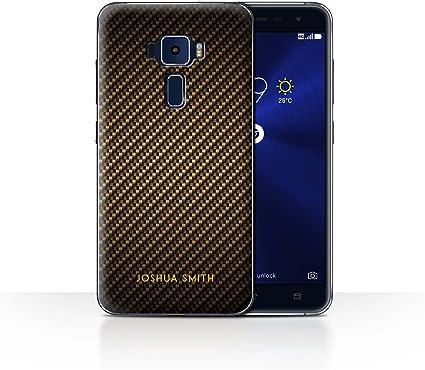 Stuff4 Phone Case/Cover/Skin/aszf3552/CARBON FIBRE Effect ...
