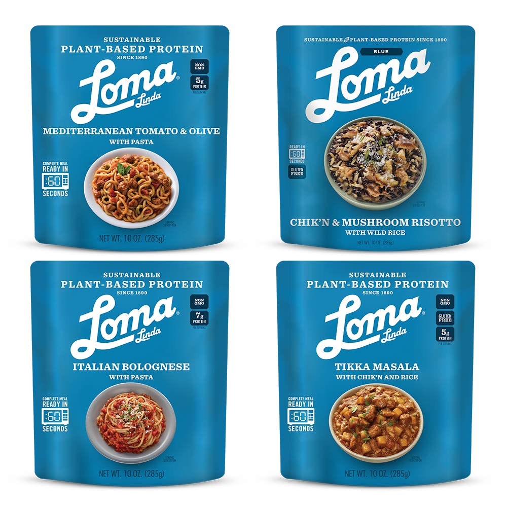 Loma Linda Mediterranean Inspired Variety Meals - Perfect For 2 People (10 oz.) (Pack of 8) by Loma Linda (Image #1)