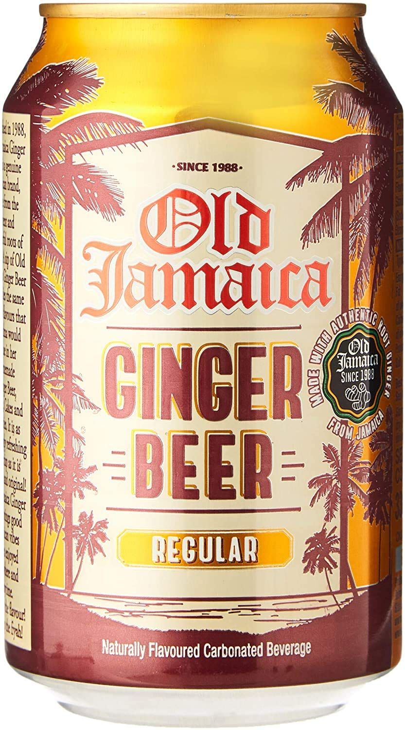 Old Jamaica Ginger Beer 330ml (Pack of 12)