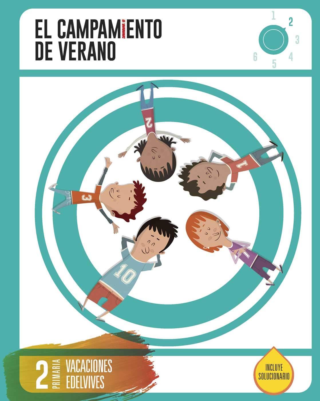 Cuaderno de Vacaciones- 2º Primaria- El Campamento de Verano ...