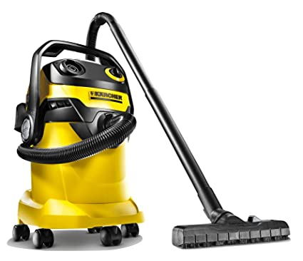 70918f9e573 Karcher WD 5 1100-Watt Wet and Dry Vacuum Cleaner (Yellow/Black):  Amazon.in: Home & Kitchen