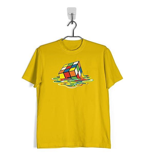 Ropa4 Camiseta Cubo de Rubik Derretido - Sheldon Cooper 9QEOgSL4