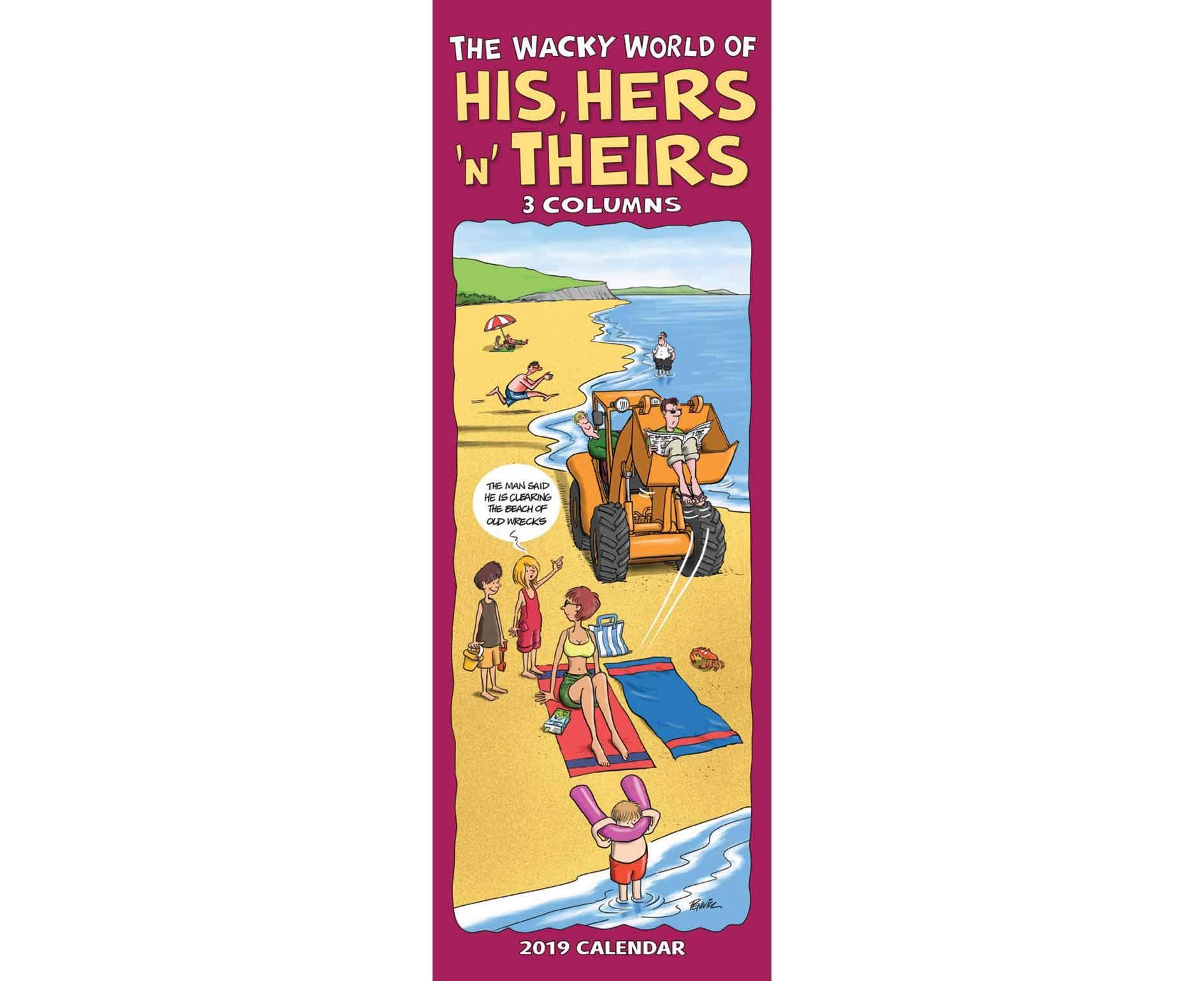 Wacky World of His Hers & Theirs P S 201 (Slim Planner) Paperback – 13 Aug 2018 Carousel Calendars 2019 1786671220 Schreibwaren (bedruckt)