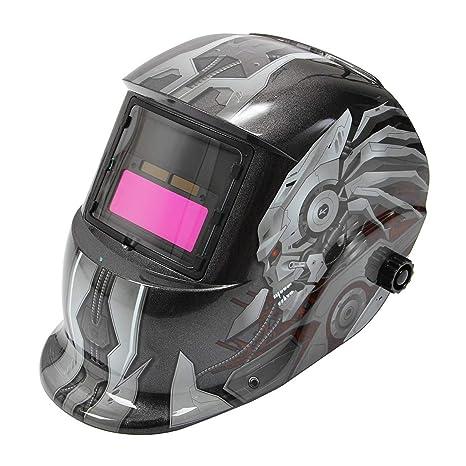 Careta de soldar automático Solar Welding Helmet sudor Máscara para todo tipo de sudor técnicas