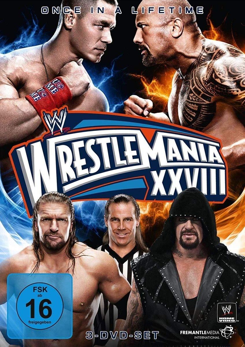 WWE - Wrestlemania XXVIII [Alemania] [DVD]: Amazon.es: The ...