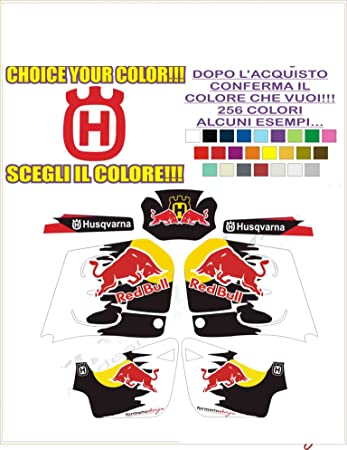ability to customize the colors Kit adesivi decal stikers HUSQVARNA SM 610 TORO