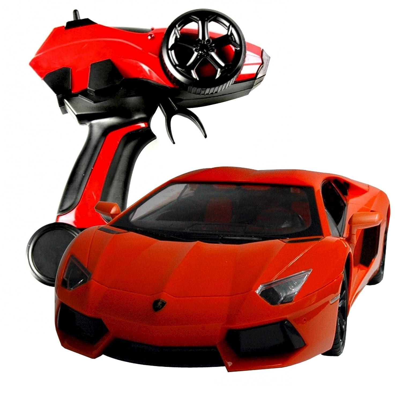 RAYLINE RC Lamborghini 28610 Orange, mit Fernbedienung