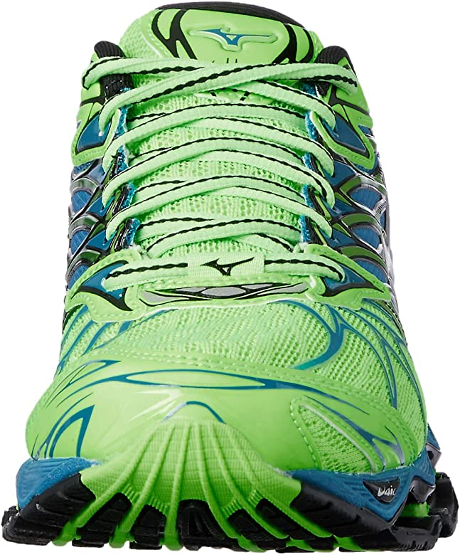 Mizuno Wave Prophecy 7, Zapatillas de Running para Hombre, Multicolor (Greengeckosilverbluesapphire), 41 EU: Amazon.es: Zapatos y complementos