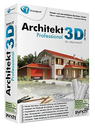Architekt 3d X7 Professional Für Mac Amazonde Software