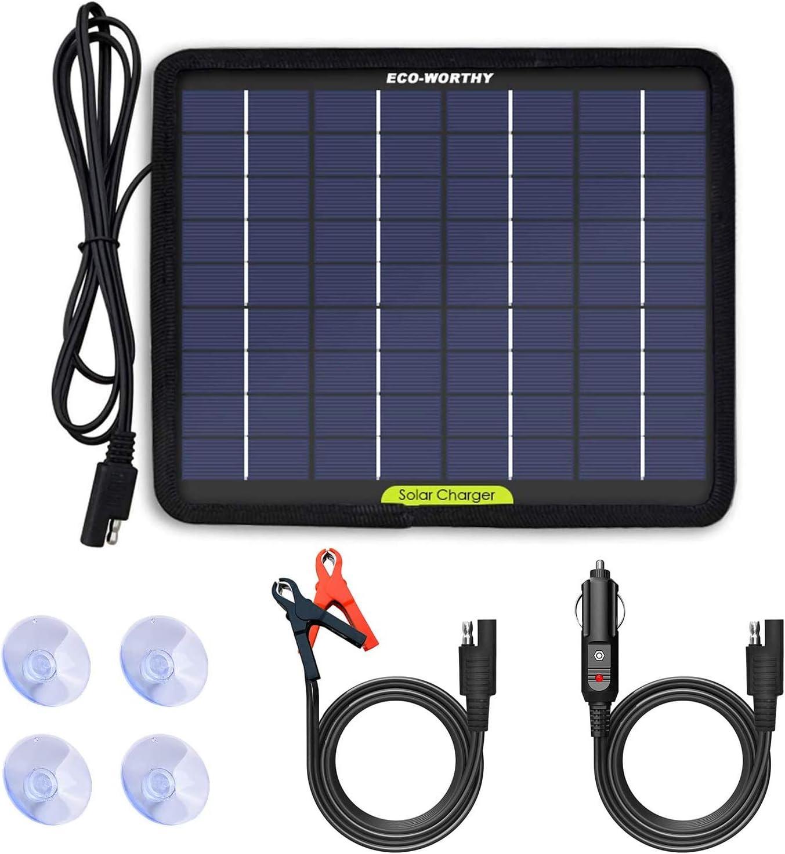 ECO-Worthy太阳能充电器和维护者