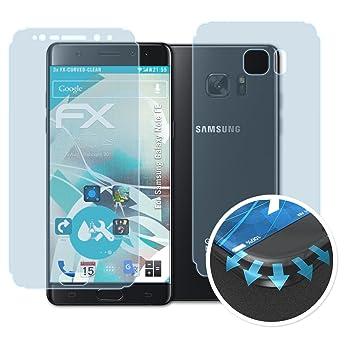 Atfolix Schutzfolie Fur Samsung Galaxy Note Fe Amazon De Elektronik