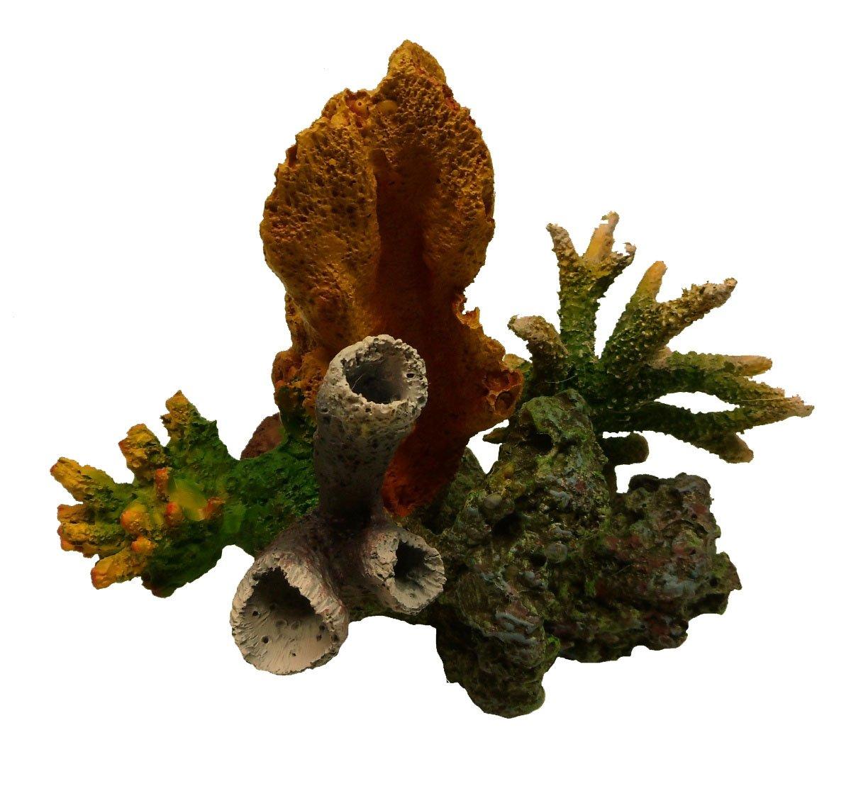 Imitation Live Coral Colony SPS TZS30B Aquarium Decoration Resin Ornament