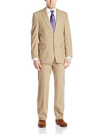Palm Beach - Traje - para hombre beige caqui 55 Regular (US ...