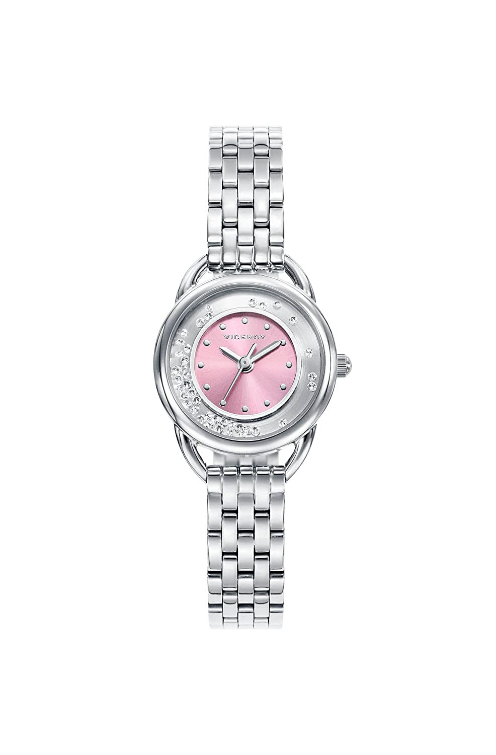 Amazon.com  Viceroy Watch 401012-70 Sweet Girl Rose Steel  Watches f553f0eed6a9