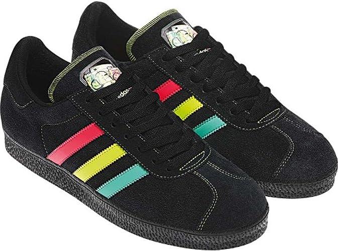 Adidas X Star Wars Gazelle 2 Boba Fett Sneaker schwarzneon
