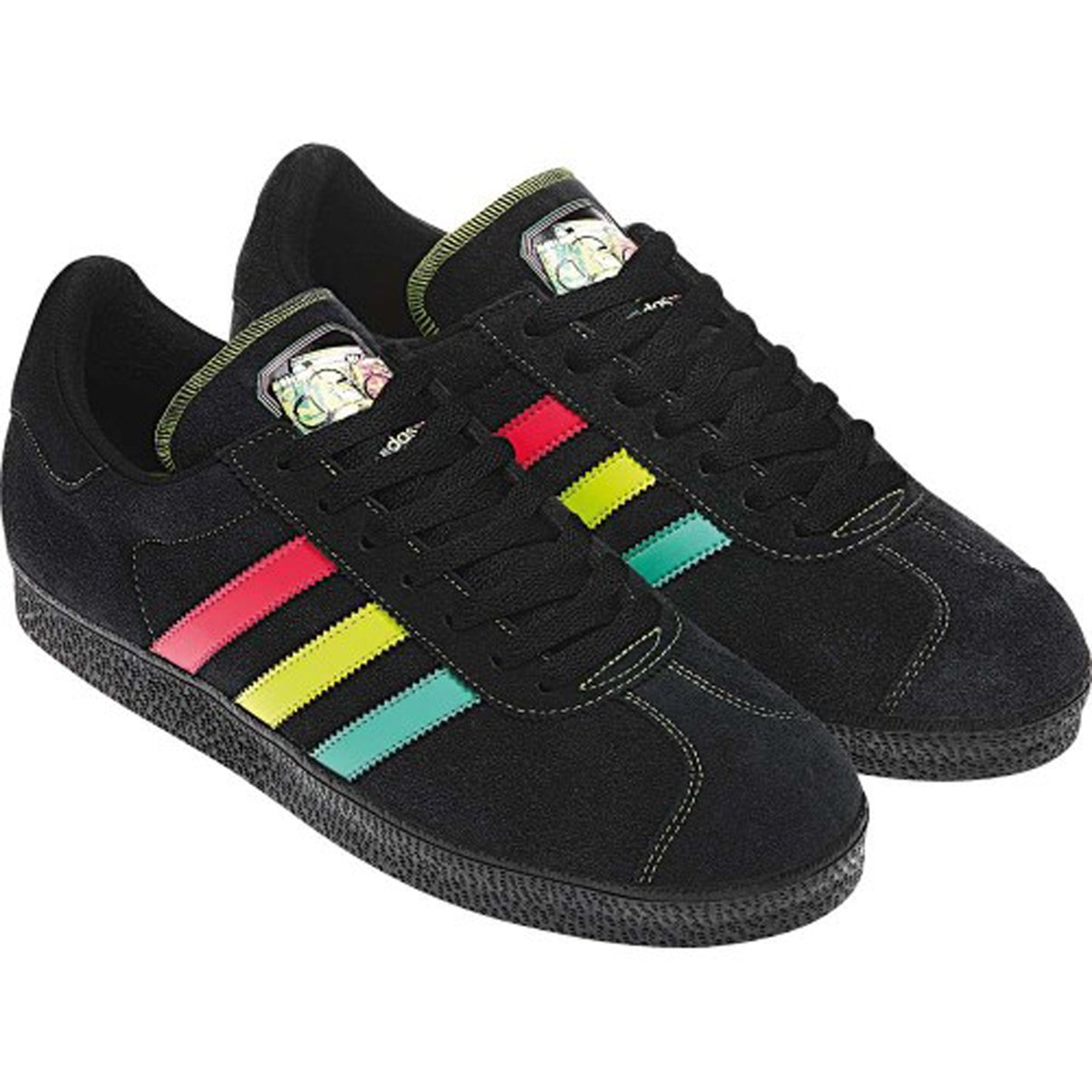 Adidas Originals Star Wars Gazelle 2 Boba Fett Black Rasta