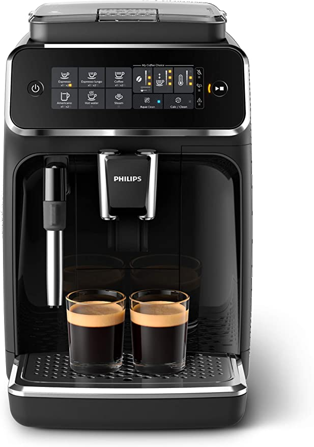 Amazon.com: Philips 3200 Series Fully Automatic Espresso Machine w/ Milk Frother, Black, EP3221/44: Kitchen & Dining