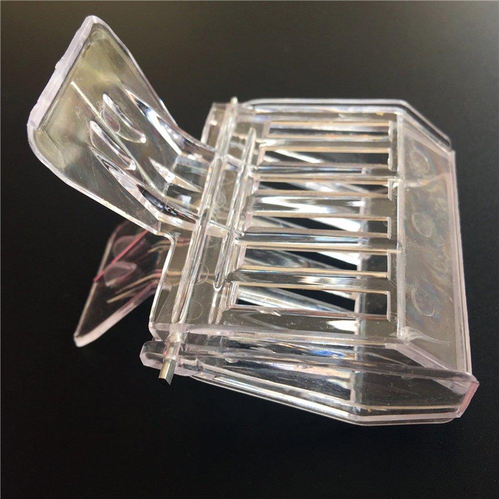 dealglad® Lot de 2sûr et efficace en plastique de haute qualité Matériau sans odeur Nouveau Roi Prisonnier Cage à pinces DealgladUK