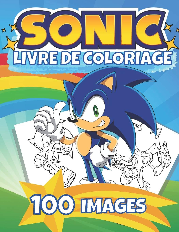 Livre de Coloriage SONIC Nouveau livre de coloriage   Livre de ...