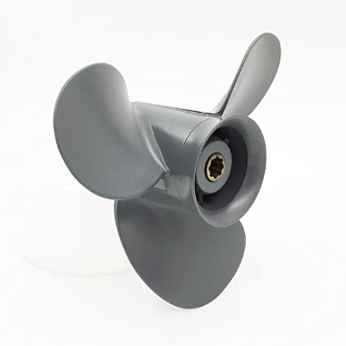 Aluminum Outboard Propeller 3 Blades Right Rotation for Honda 8/9.9/1520HP [Polarstorm] Picture