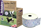Defenders Repeller Ribbon (Humane, Weather-Proof Iridescent Tape, Bird Deterrent, Scares Pigeons and Deer from Gardens), 30 m
