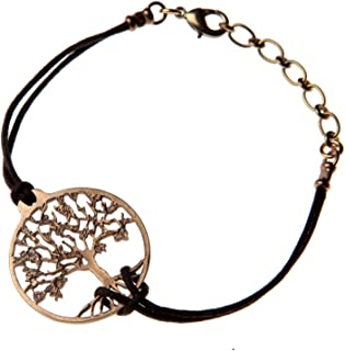 product image for Delicate Tree of Life Peace Bronze Adjustable Bracelet