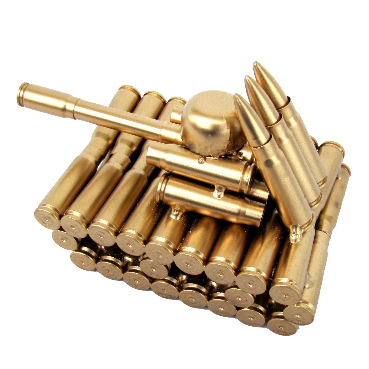 amazon com bullet shell casing shaped army tank sports outdoors