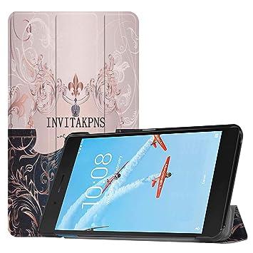 X-Best Carcasa Lenovo Tab E7,Lenovo Tab E7 Funda: Amazon.es ...