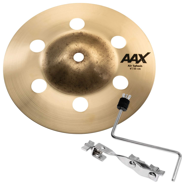 Sabian 20805XA 8'' AAX Air Splash w/ Cymbal Mount Arm